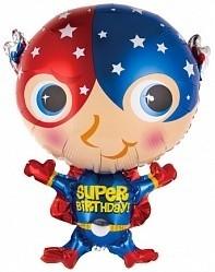 Фольгированный шарик Супер Герой