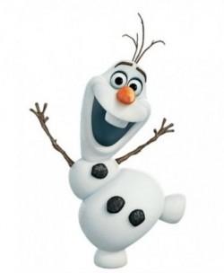 Фольгированный шарик Снеговик Олаф, Холодное сердце