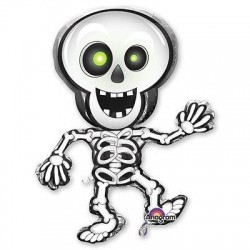 Воздушный шар «Танцующий скелет»