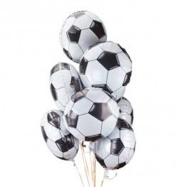 Фольгированный шарик Футбольный мяч