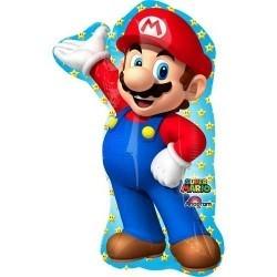 Фольгированный шарик с гелием Супер Марио