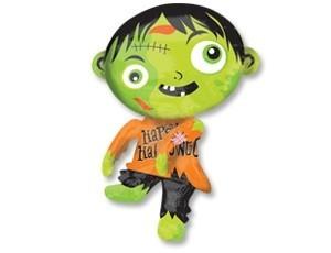 Зомби зеленый