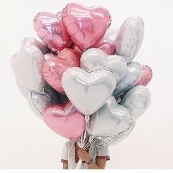 Фольгированные сердечки для Любимой