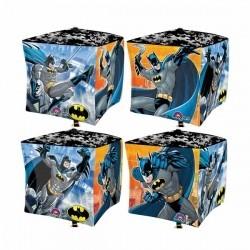 Фольгированный шарик-куб Бэтмен