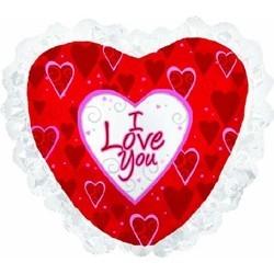 Сердце, Я люблю тебя Красный
