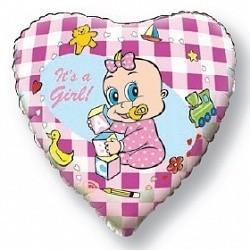 Сердце, Новорожденная девочка