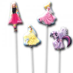 Набор из фольгированных шариков на палочке «Мечта девочек»