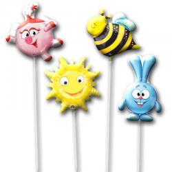 Шарики на палочке «Солнечные Смешарики»