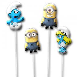 Набор воздушных шаров на палочке «Мультяшки